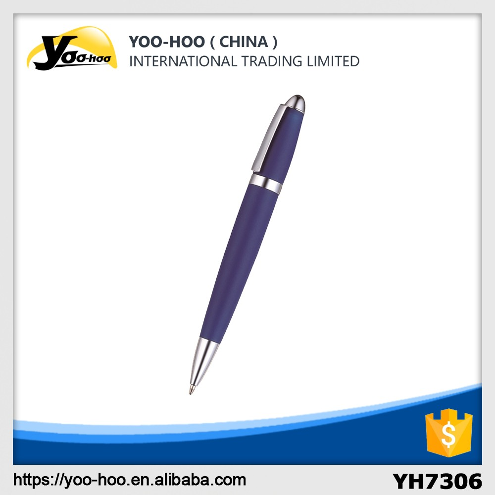 Silica gel barrel Metal Pen