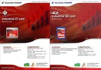 Silicon Power Industrial Secure Digital SD card, Compact Flash CF card