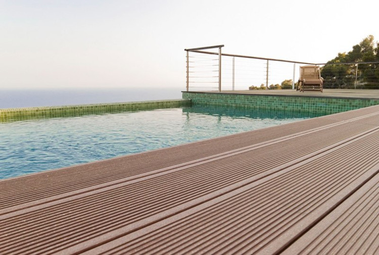 Exceptional Factory Price Wood Grain Outdoor Swimming Poor Wpc Composite, Wood  Composite Decking, Black Composite