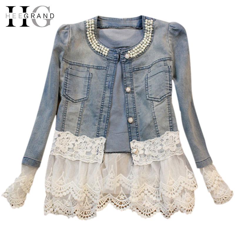 Compra chaquetas de jean para mujer online al por mayor de
