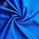 Attractive Design Knit blue Mesh 100 Polyester Fabric Cloth