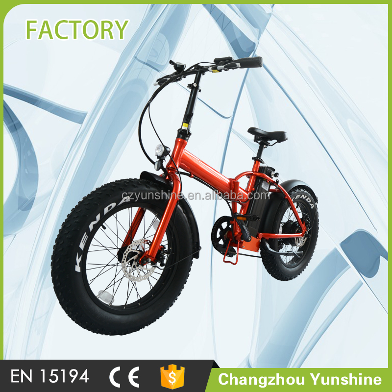 Hasky 20 inch fat tire ebike, two seat cheap fold up mountain electric motor bike
