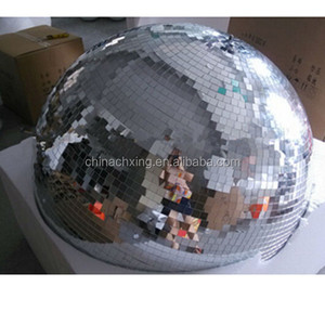 colorful large christmas disco foam mirror ball with high quality