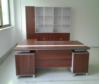 Hot Design Melamine Office Executive Table Factory Furniture Korean