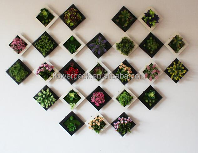 living room wall hanging green Artificial Plant types of ornamental plants
