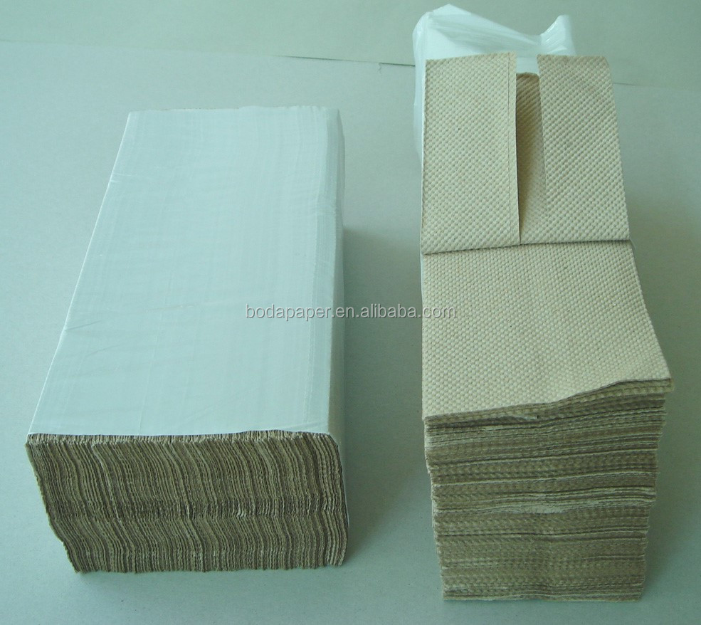 1ply kraft Cfold dispenser Handdoek Papier