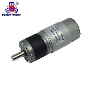 hot selling high torque 36mm 12v 24volt 10 rpm specification dc brushless DC Planetary gear gearhead motor