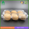 Plastic Material and Fruit Use pet 6pcs kiwi container boxes