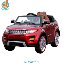 popular design car fashion kids electric toy car to drive 12v strong car wdsx118