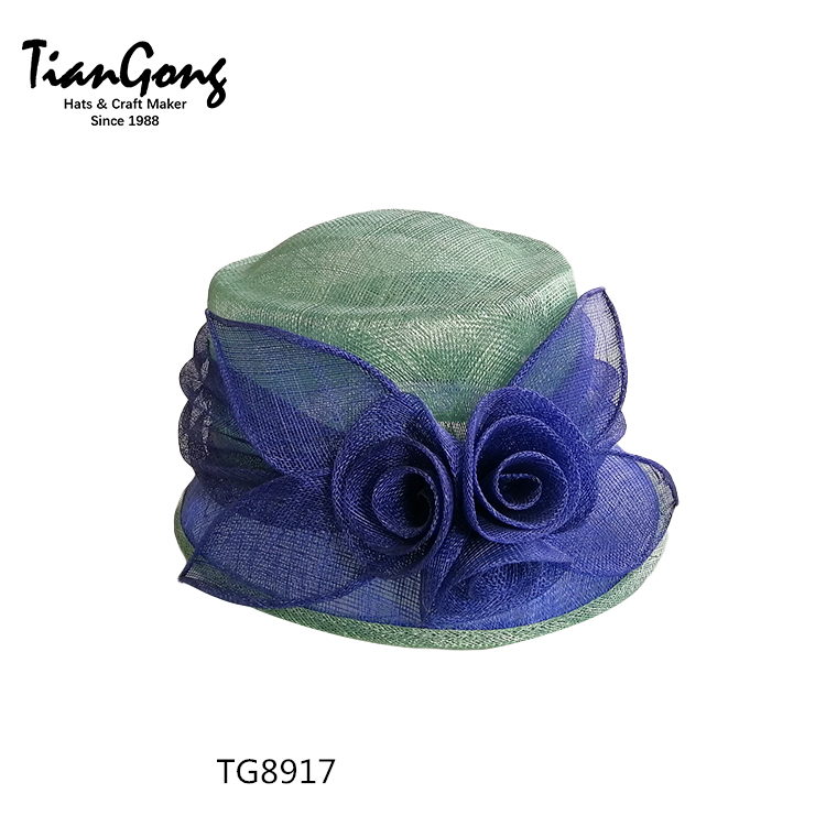 New Arrival New Fashion Customized Logo Church Dress Hat