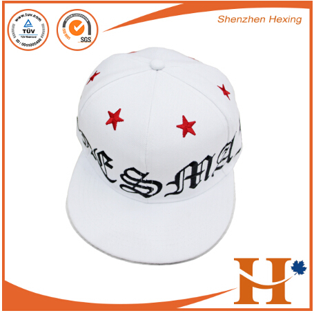 edf7012b6df hot sale custom design hat flat bill printed patch embroidery snap back  plain two tones snapback