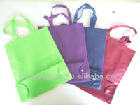 silkprinting foldable tote bag (NW-1080-T54)