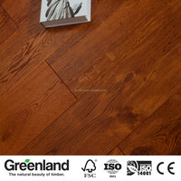 High quality home decoration brushed oak engineered wood flooring