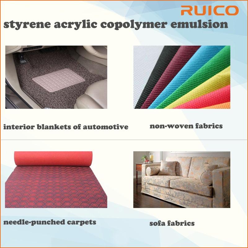 Eco-friendly Water Based Styrene Acrylic Resin Binder