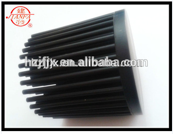 Custom China small power high quality aluminum led cold forging heatsink