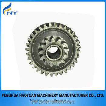 mass production quality metal spur gear, brass gears