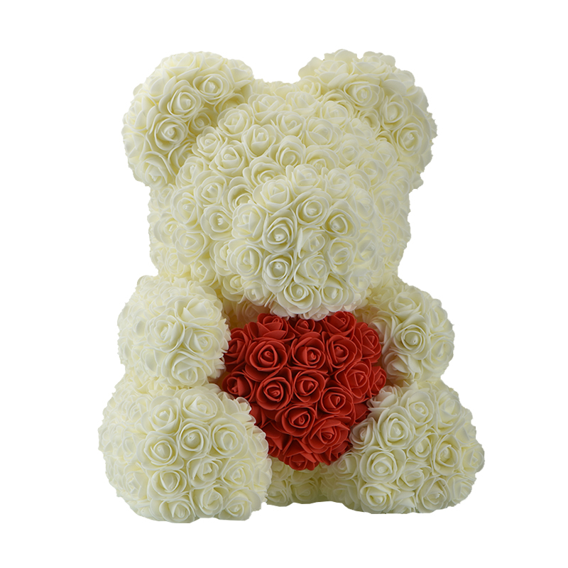Amazon Hot Selling Teddy Rose Decorative Artificial Preserved Roses