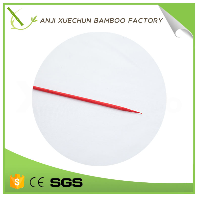 Xuechun HIgh quality disposable round bamboo skewers/stick for wholesale