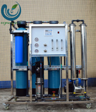 500lph Portable deionization filter plant with Stainless steel housing for Ground water