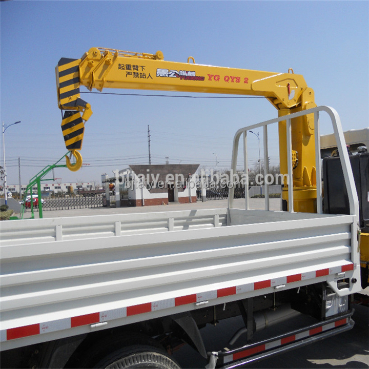 10 Ton Cargo Truck Crane with Brand New Items