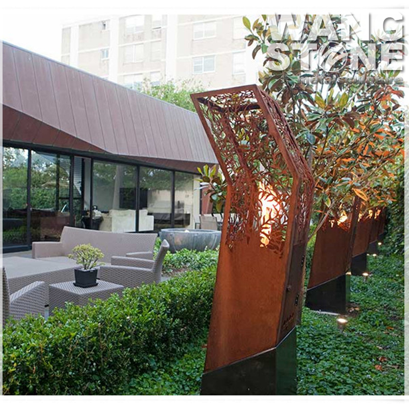 jardin artisanat corten acier sculpture en m tal lanterne arts collection id de produit. Black Bedroom Furniture Sets. Home Design Ideas