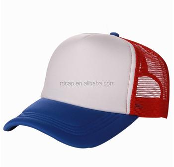 Custom Foam mesh trucker hats and caps mens promotional sports running  soccer ajustable plastic closure flexfit 42219eff08c