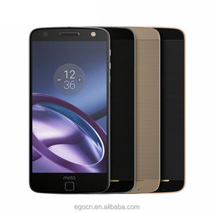 Original Motorola MOTO Z XT1650 Cell Phone 5.5 Inch Quad HD 2K Design 4G LTE Smartphone 4GB RAM 64GB ROM 13MP+5MP Mobile phone