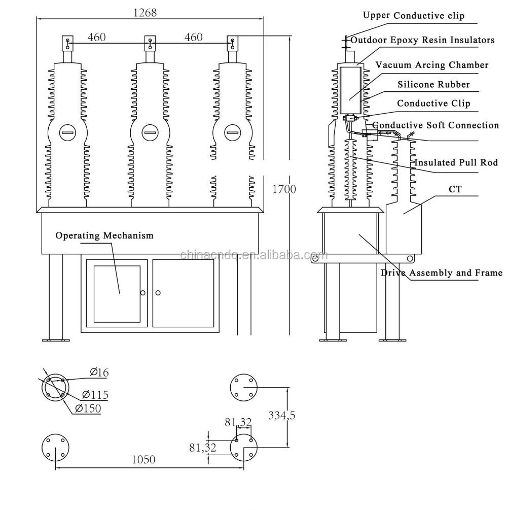 Square D Shunt Trip Breaker Shunt Trip Assembly For Ds