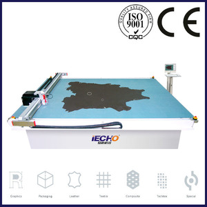 Hangzhou IECHO TK Leather Cutting Machine with Oscillating Knife for Automotive Industry