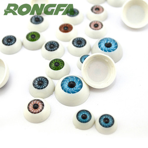 Plastic large variety of oval googly eyes use for doll