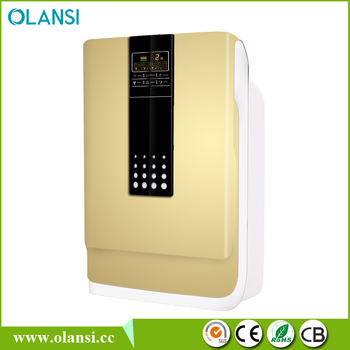 Olansi negative ion generator air purifier hepa filter with air purifier motor