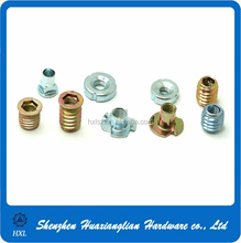 Custom stainless steel metal chair hardware fasteners