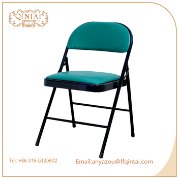 Cheap Metal Folding Chairs With Soft Cushion