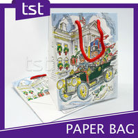 Custom Printing Luxury Shopping Paper Bags