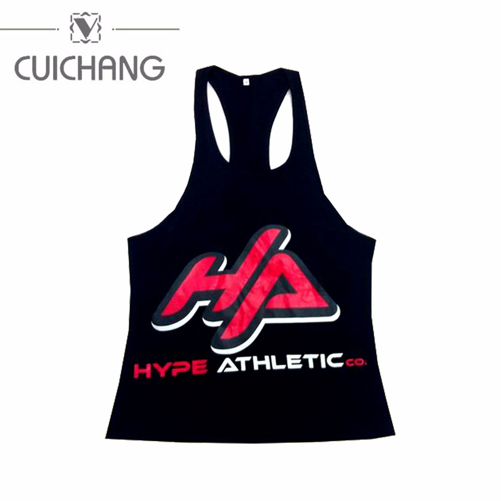 singlet top muscle tank cotton singlet screen print ,new design wholesale sublimation sport gym singlets
