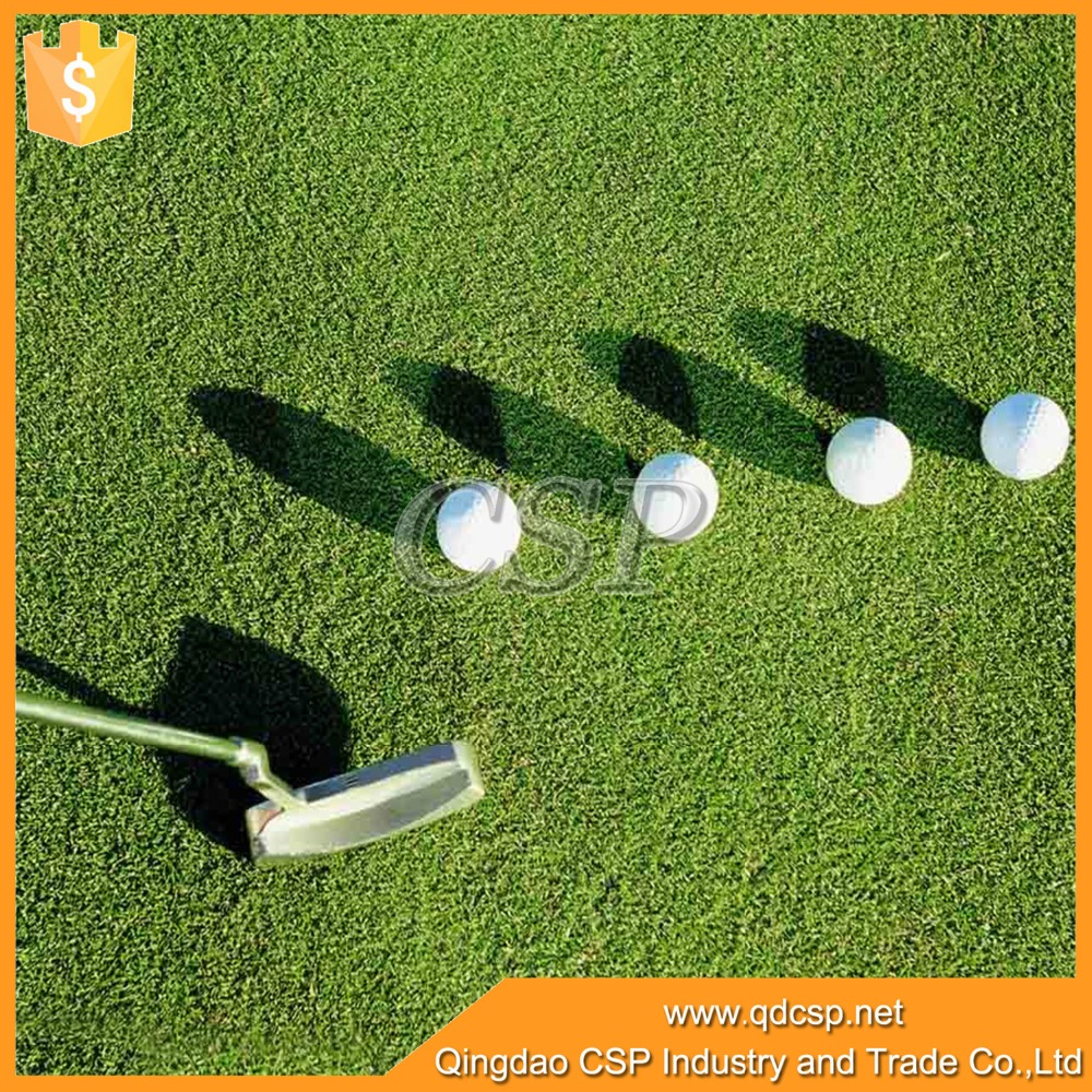 high grade UV stability mini golf artificial grass turf short grass with cheap price