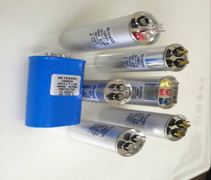 CBB65 REFRIGERATOR DOUBLE INSULATED LEADS MOTOR RUNNING CAPACITOR