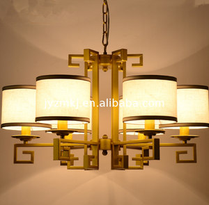 High quality long duration time Modern Art Unique light chandelier hallway decorating lights
