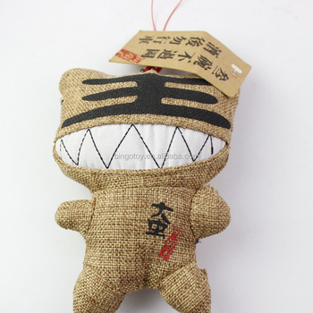 Promotional Hot Sale Factory Direct Wholesale soft cute tiger monster stuffed plush keychain,custom monster plush toy