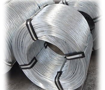 High quality12 gauge hot dipped / electro galvanized steel wire