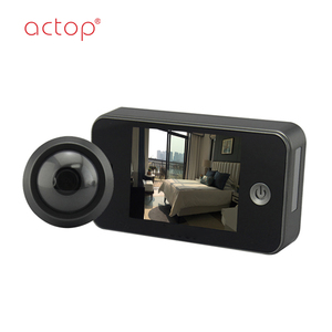 hot sale motion detection video peephole door camera