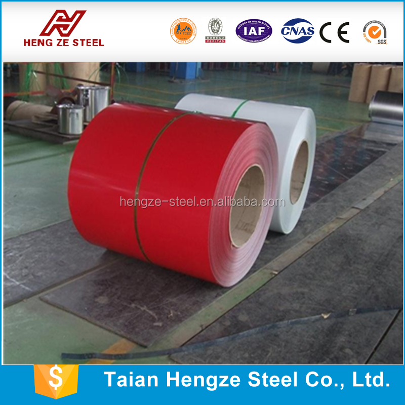 Color coated galvanized steel plate PPGI for corrugated