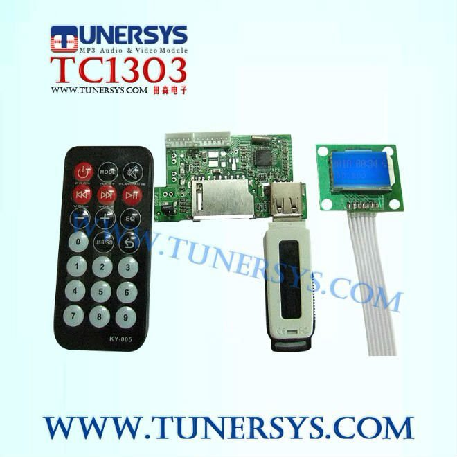 Hey! 2012 Tunersys TM1303 generic mp3 player