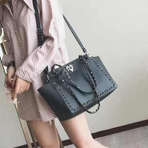 NS2074 Hot Sale Women Handbags Fashion Casual PU Leather Tote Bags