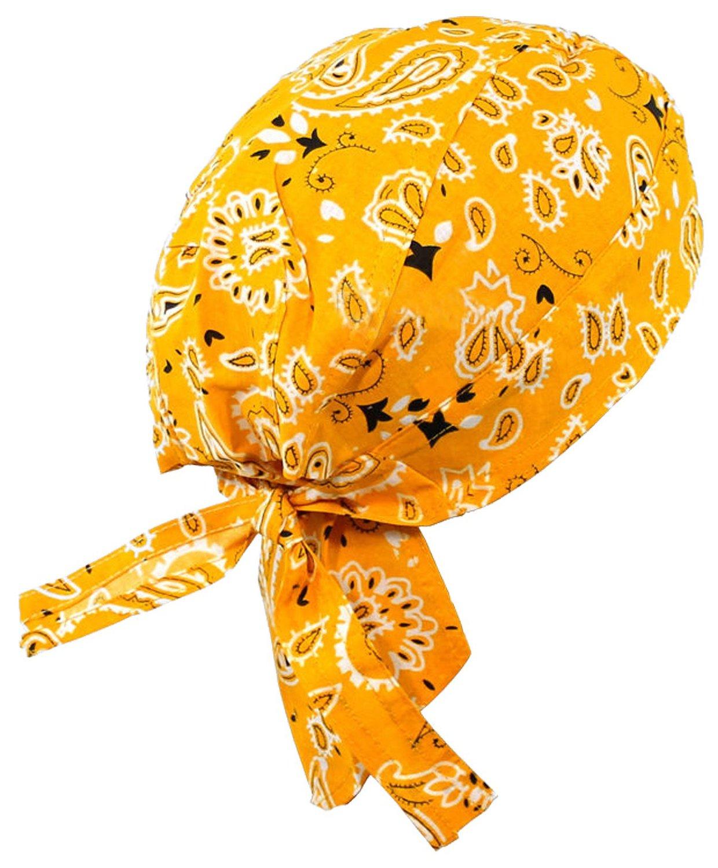 9c8ddc029a Get Quotations · Paisley Doo Rag Du Rag Do Cotton Bandana Headwrap PICK COLOR  Chemo Cap