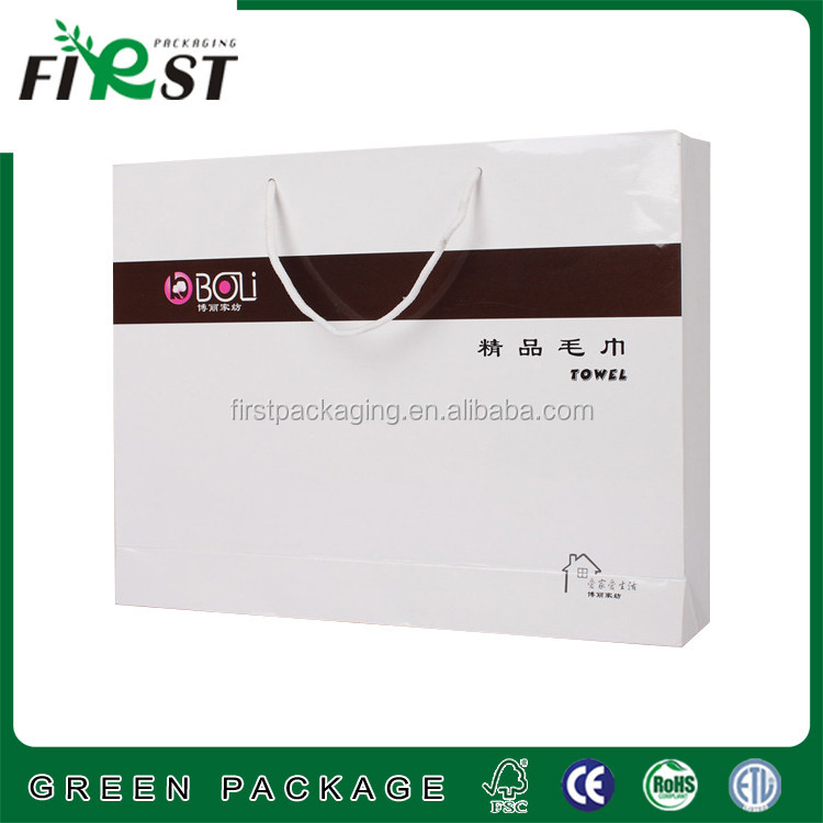 printing shopping paper bag,Paper Gift Bag for promotion shopping