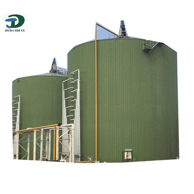 China Crop Straw Biogas Factory, Biogas Storage Tank