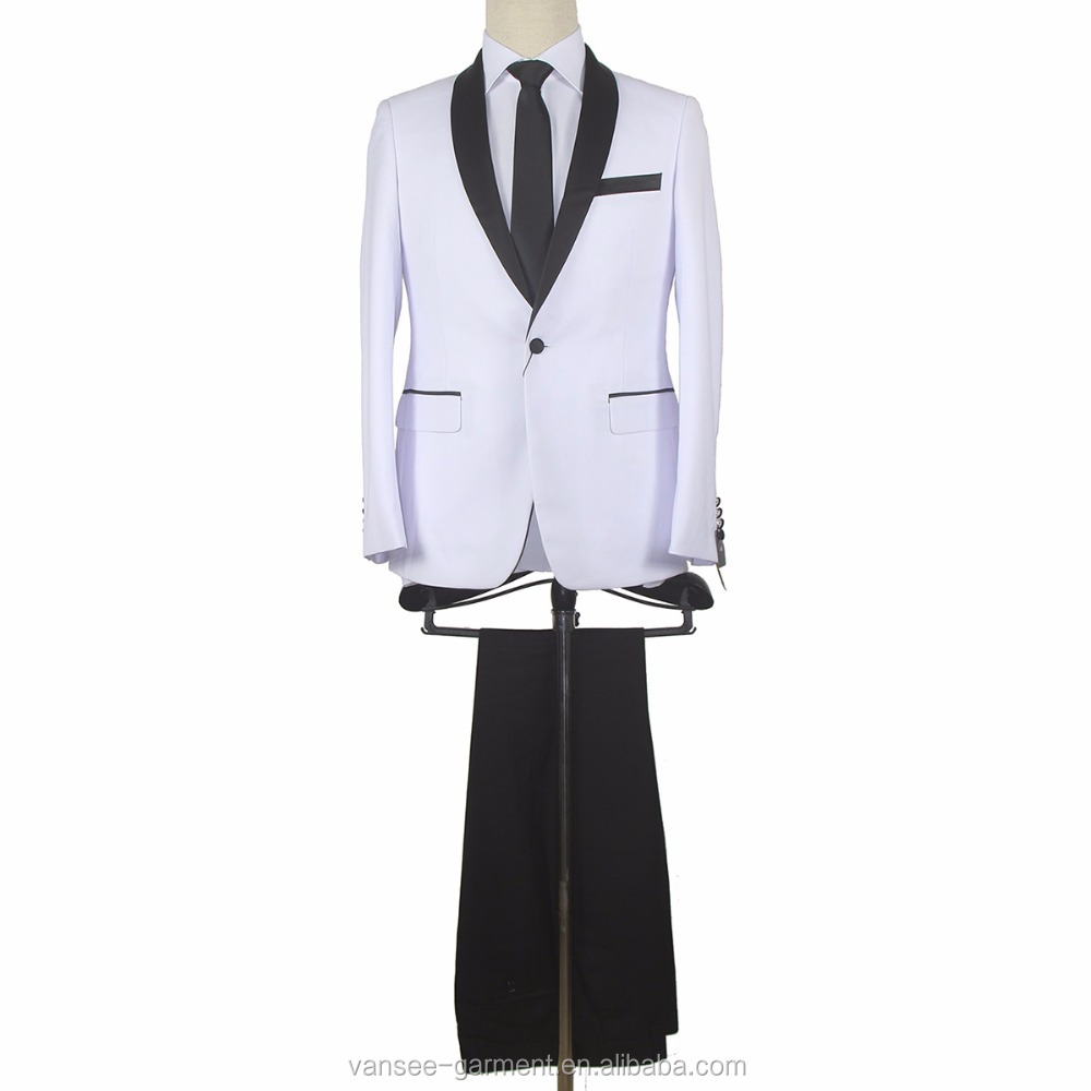 single-breasted classic evening party wedding 2 pieces suit church suit men