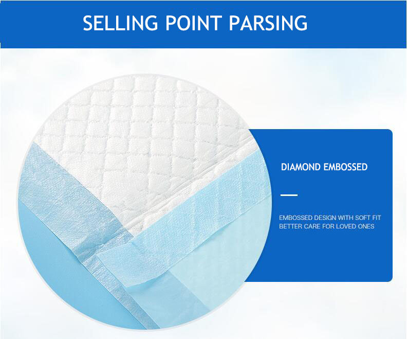 Adult Hospital Disposable Nursing Pads Underpad Medical Inconvenient Pad Adult Diapers