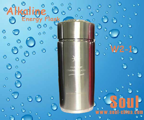 alkaline energy Negative ion flask